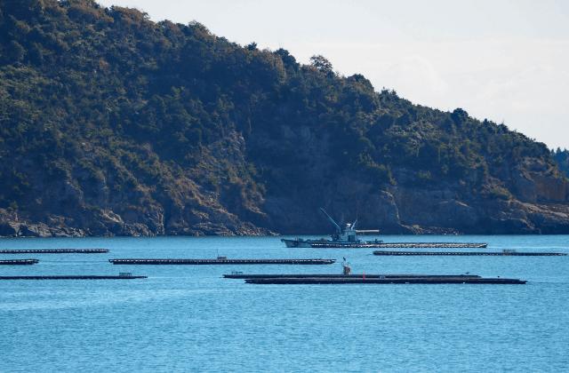 5Gと水中ドローンによる漁場での遠隔監視の実証実験に成功